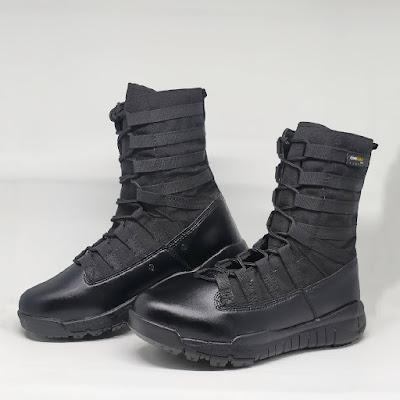 Sepatu PDL Ninja Blackwater Hitam 8 inc