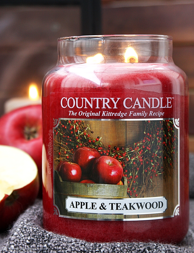 apple & teakwood country candle jesień 2017