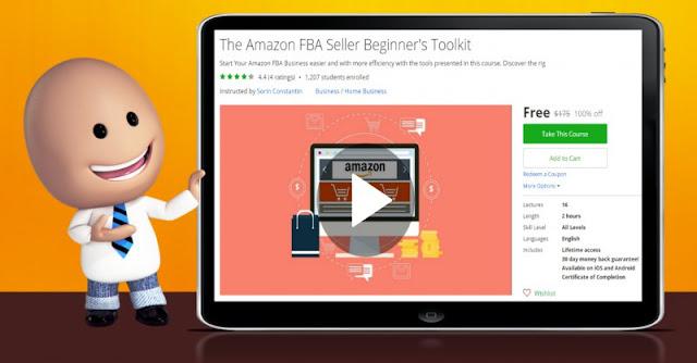 [100% Off] The Amazon FBA Seller Beginner's Toolkit| Worth 175$