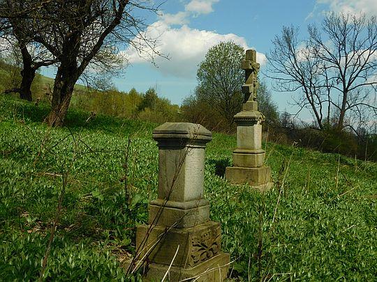 Cmentarz łemkowski w Przybyszowie.
