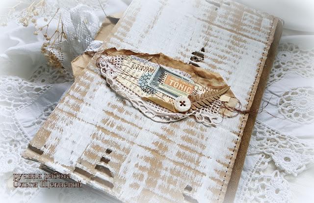 старинная,  кулинарная книга, блокнот из конвертов