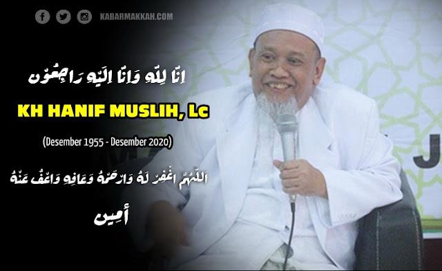 INNALILLAHI, KH Hanif Muslih, Pengasuh Ponpes Futuhiyyah Mranggen Meninggal Dunia