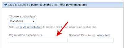 Membuat tombol donasi paypal di blogspot