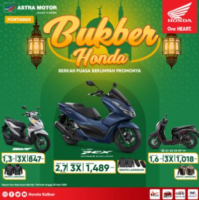 Promo Khusus Angsuran Honda Edisi Ramadhan