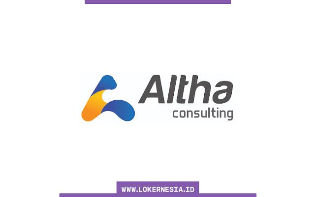 Lowongan Kerja Altha Consulting Juni 2021