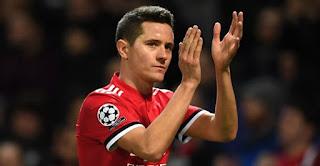 Manchester United Resmi Lepas Ander Herrera