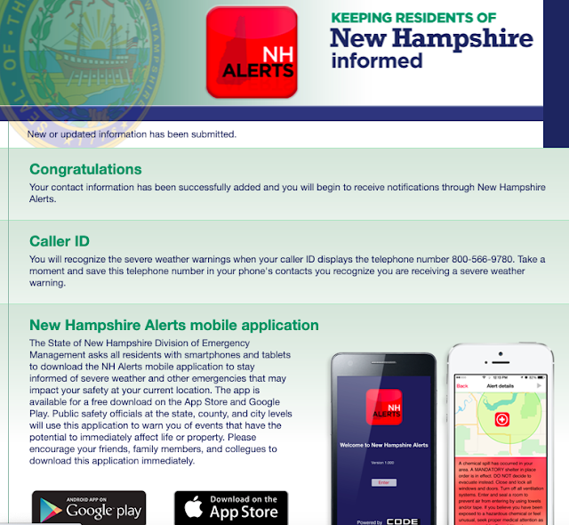 Sistema de Alerta de Emergencias de New Hampshire