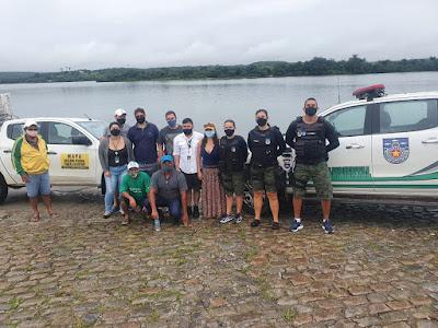 Batalhão Ambiental de Alagoas participa de visita técnica na Região do Baixo e Médio São Francisco