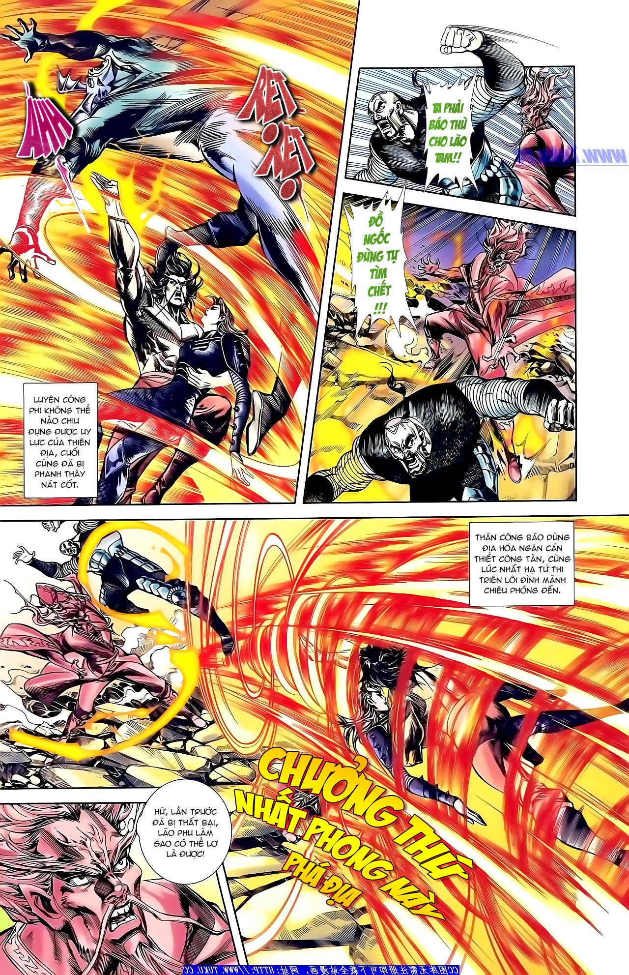 Cơ Phát Khai Chu Bản chapter 158 trang 12