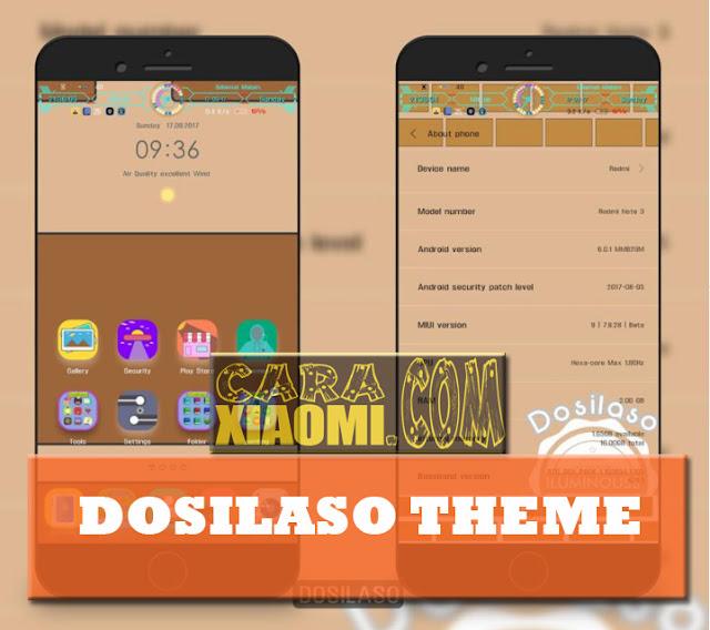 Themes Dosilaso MIUI9 For Xiaomi Serta Cara Pemasangan Tema Pihak Ketiga Mtz