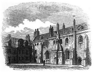Pembroke College, Cambridge  from Memorials of Cambridge by CH Cooper (1829)