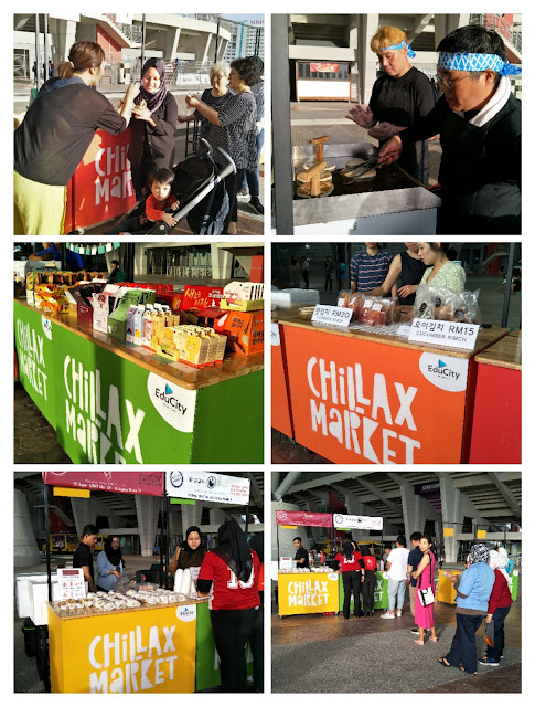 EduCity Chillax Market Create a Strong Coming Together for the Korean Community Themed 'KimChillax'