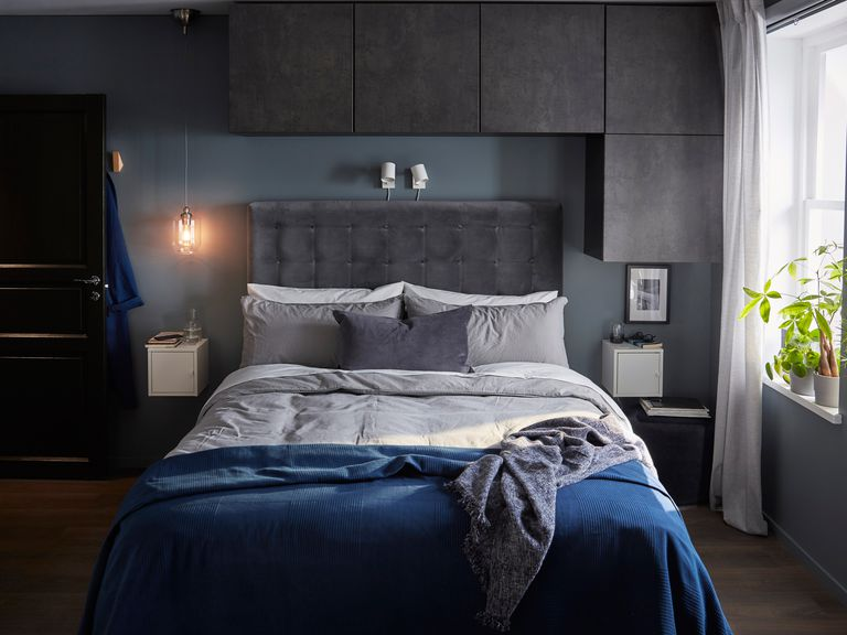 catalogo ikea 2020 the lab home usa estados unidos dormitorio gris y azul