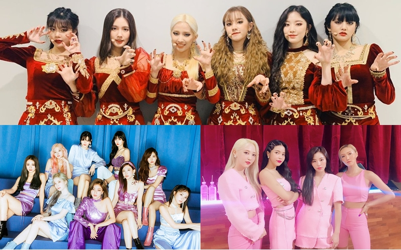 Here is The Most Popular K-Pop Girl Group in November 2019