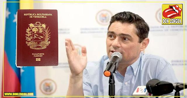 Carlos Vecchio confirmó que medida de pasaportes solo beneficia a venezolanos en el exterior