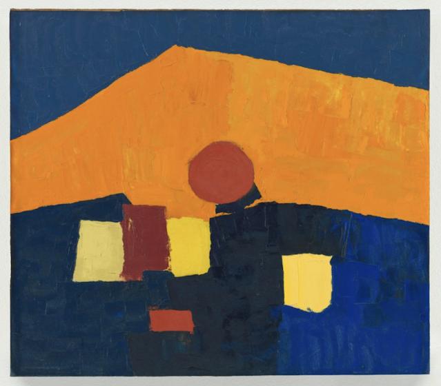 Etel Adnan Untitled, ca. 1960s