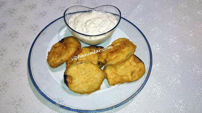 Sodalı Patlıcan Kızartması