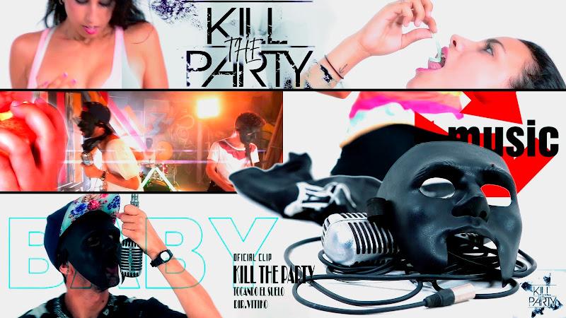 Kill the Party - ¨Tocando el suelo¨ - Videoclip - Director: Víctor Vinuesa (Vitiko). Portal Del Vídeo Clip Cubano. Música cubana. CUBA.