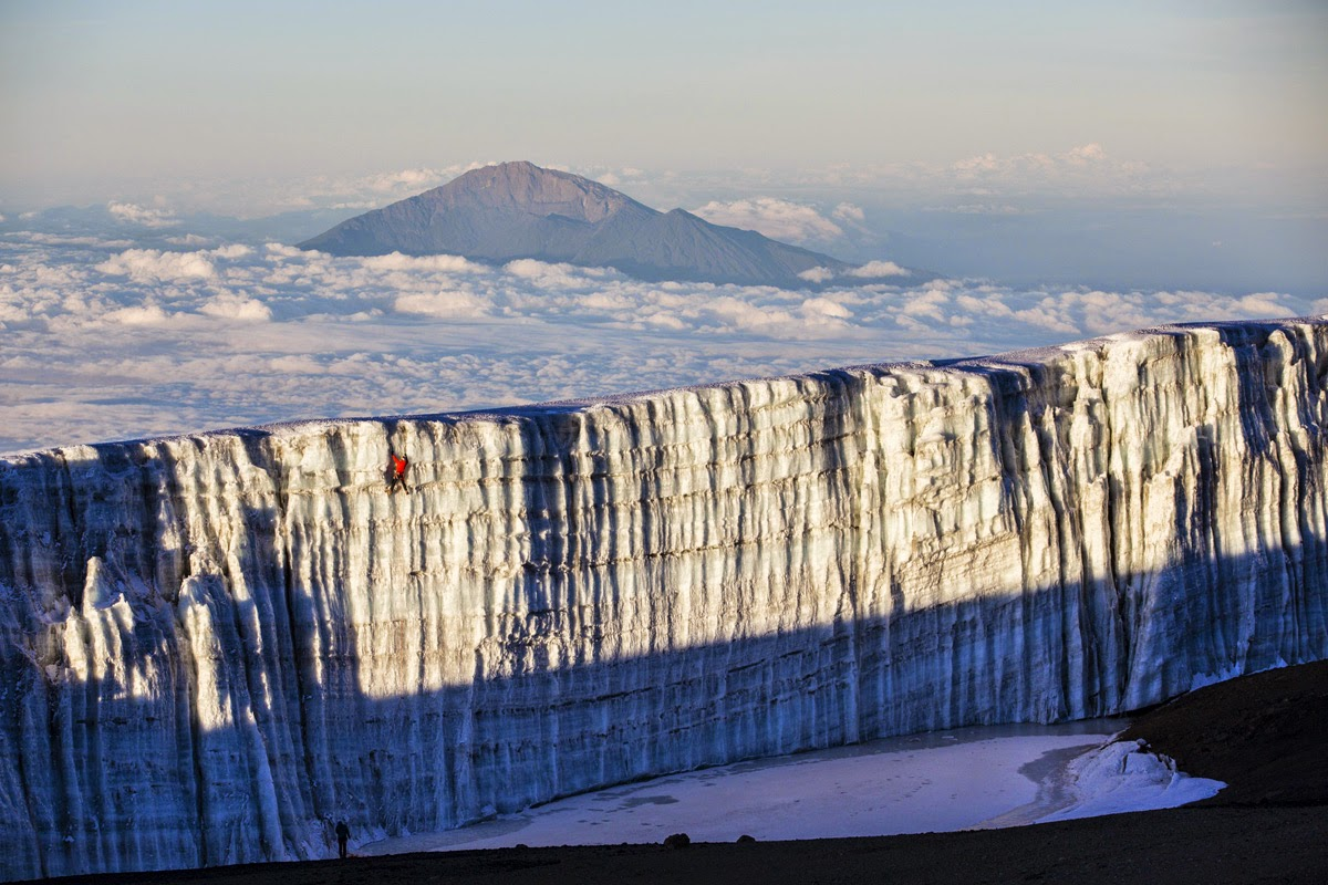 Ice Climbing the Glaciers at the Top of Kilimanjaro - Snow ...