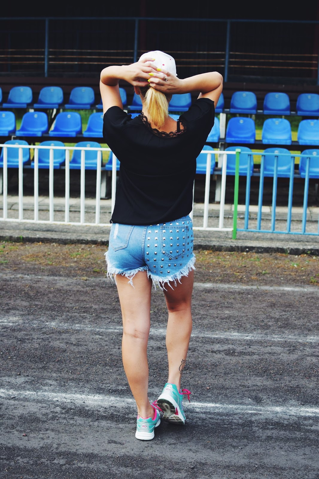 Moja sportowa stylizacja