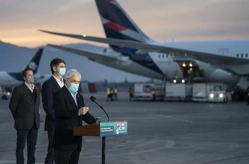 Presidente Piñera anuncia Pase de Movilidad