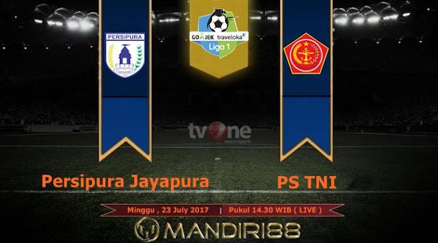 Prediksi Bola : Persipura Jayapura Vs PS TNI , Minggu 23 July 2017 Pukul 14.30 WIB @ TVONE