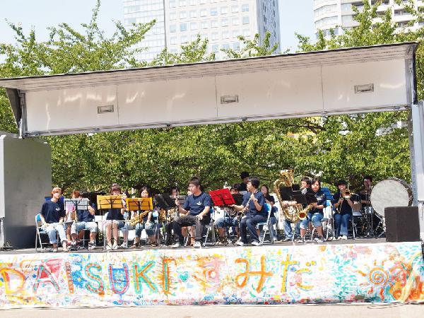Sumida Street Jazz Festival, Kinshichou, Tokyo