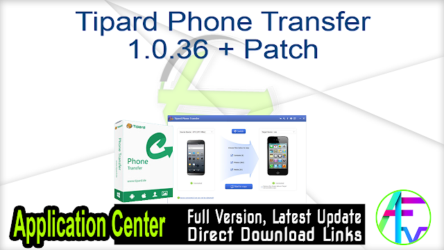 Tipard Phone Transfer 1.0.36 + Patch