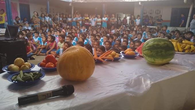 Prefeitura de Chapadinha Promove Semana da Alimentação Saudável em Escolas Municipais.