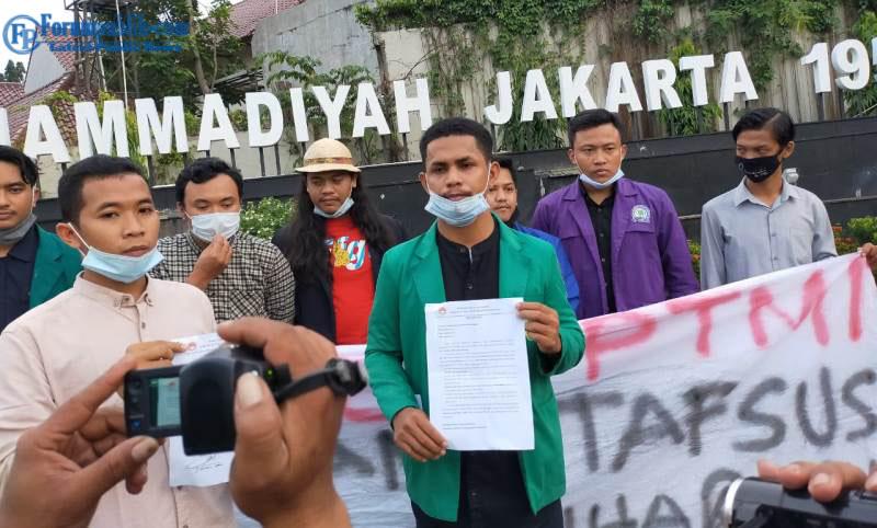 BEM PTMI Tidak Undangan ke Istana, BEM PTM Zona III: Itu Hanya Pencitraan Stafsus Milenial