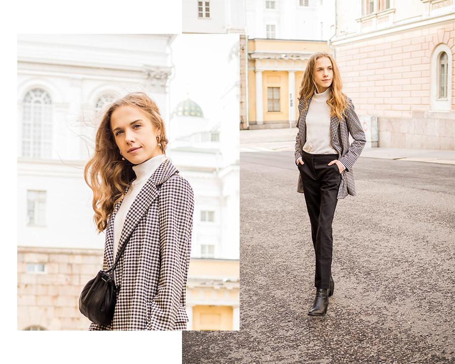 Minimalistinen toimistoasu syksyyn - Minimalistic office outfit for autumn