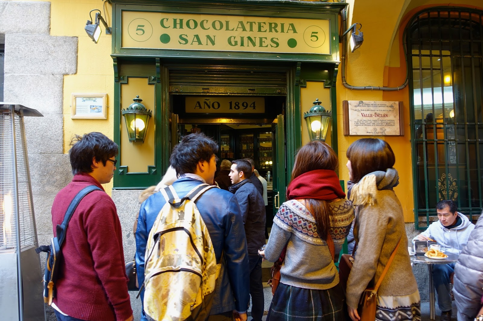 Jin Loves To Eat Chocolateria San Gines