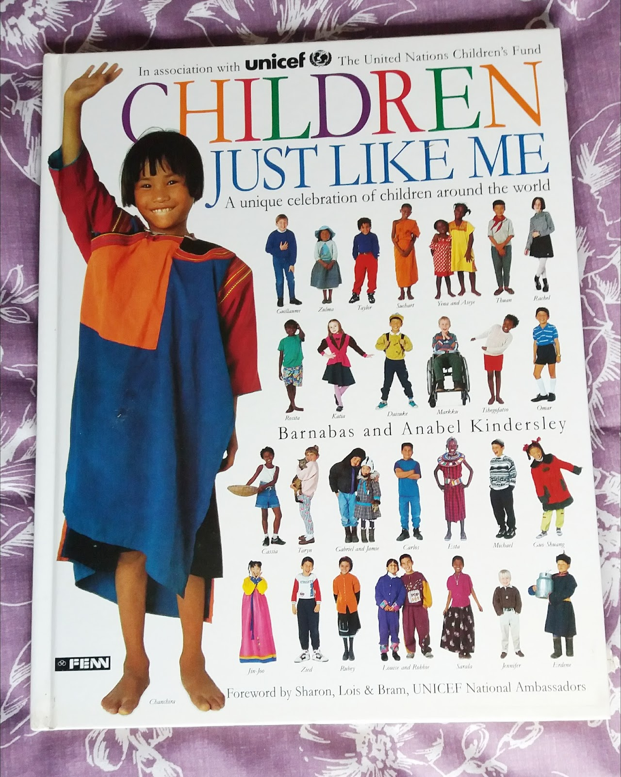 Children Just Like Me by Barnabas and Anabel Kindersley