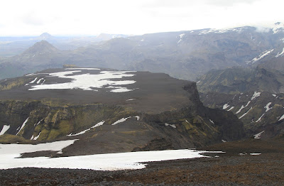 Morinsheiði - View North from the Trail