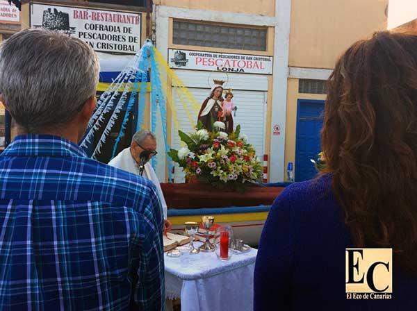 fotos Misa Marinera en el barrio marinero de San Cristóbal de Las Palmas de Gran Canaria