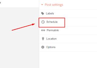 Cara Publikasikan/Jadwal Artikel Blogger Secara Otomatis