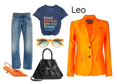 Gaya pakaian zodiak Leo