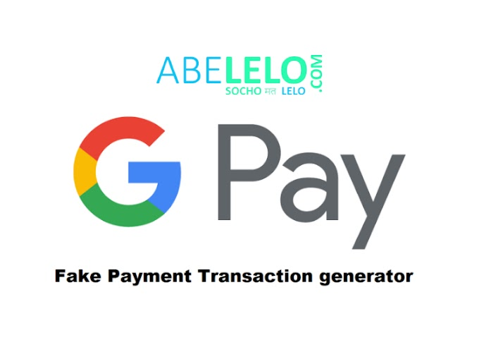 Google Pay Fake Payment Screenshot Generator Apk
