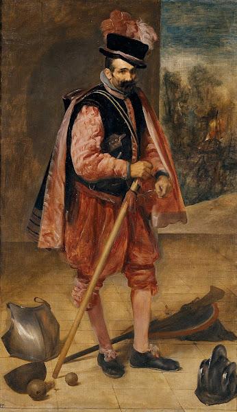 Диего Веласкес - Портрет шута, называемый 'Хуан Австрийский' (ок.1632)