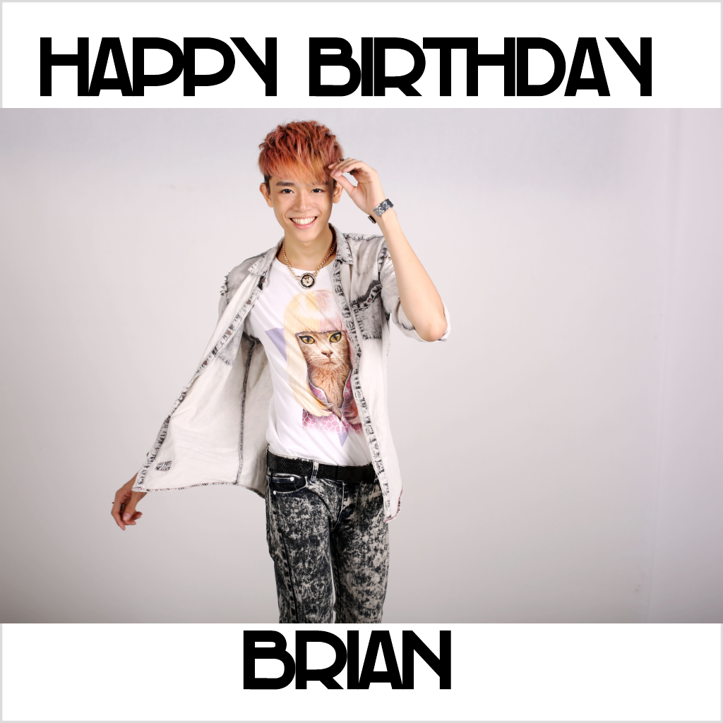 Mr.Brian See: HAPPY BIRTHDAY BRIAN