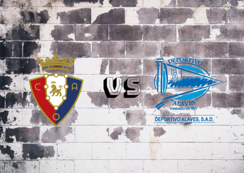 Osasuna vs Deportivo Alavés  Resumen