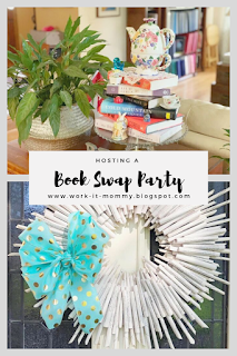 Book Swap Party on Work it Mommy blog