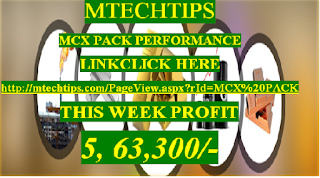 MTECHTIPS MCX PACK PERFORMANCE LINK CLICK HERE