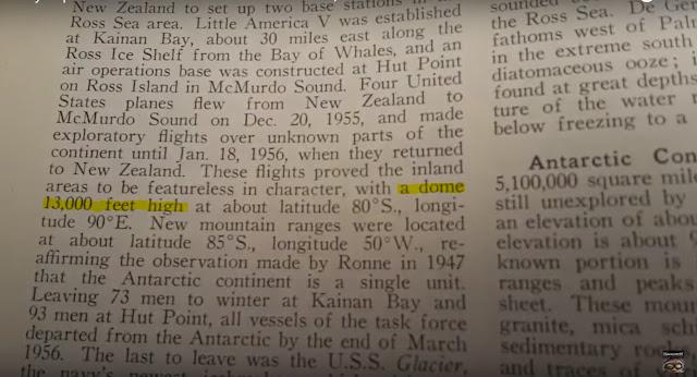 Trecho da Enciclopedia Americana - Volume II de 1958