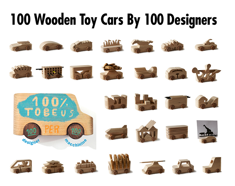 100 Wooden Toy Cars By 100 Different Designers Tobeuscelebrity Sex