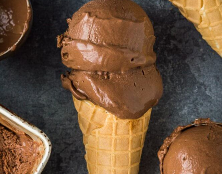 Rich And Creamy Vegan Chocolate Ice Cream #desserts #cakerecipe #chocolate