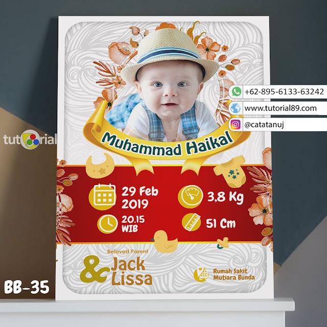 Biodata Bayi Costume Unik Kode BB32 | Merah Putih