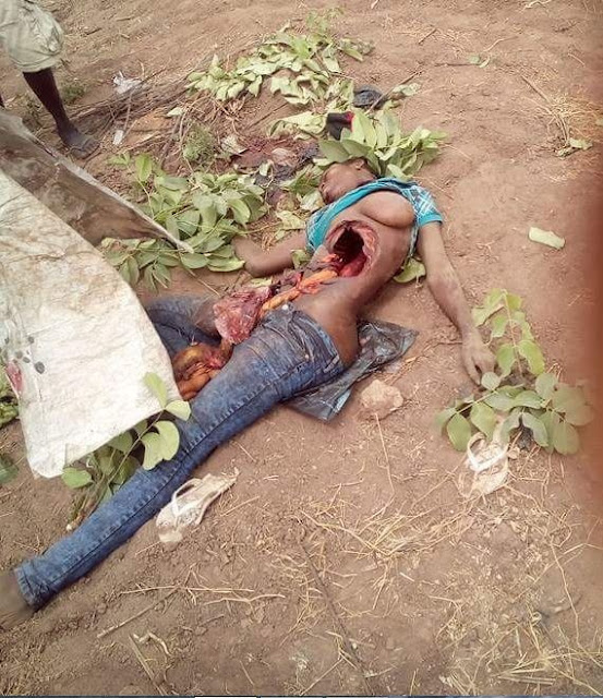 Ritualists Remove Young Girl's Heart After Killing Her (Graphic Photos)