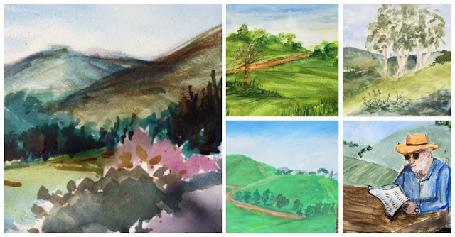 concord art association plein air painting