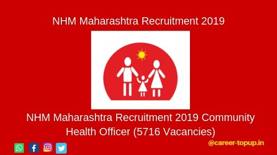 NHM Maharashtra Recruitment 2019 Form..
